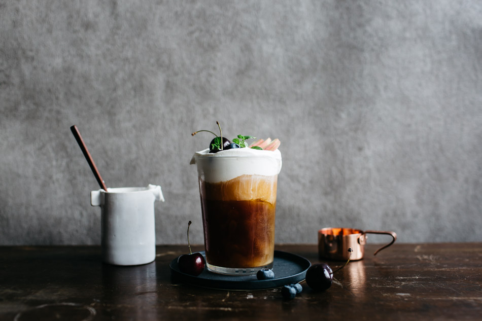 Peach-Infused Cream Ice Coffee-19